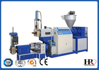 China PP PE Film Plastic Recycling Machine , Pelletizing Recycling Granulator Machine Water Ring supplier