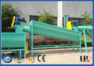 China Waste Plastic PP PE Film Washing Crushing Machine Recycling Production Line supplier