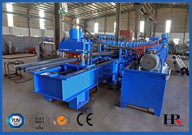2-WAVE Galvanized Steel Highway Guardrail Roll Forming Machine