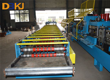 Roof making machine Corrugated Roll Forming Machine  for PLC with touch screen