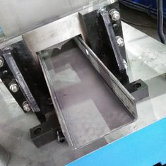 U / C Post Guardrail Roll Forming Machine , Highway Guardrail Machine