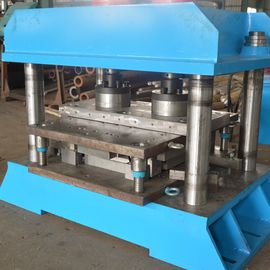 Fish Tail Press Highway Guardrail Roll Forming Machine With Longlife