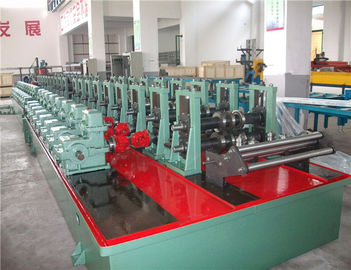 Automatic Pallet Rack Roll Forming Machine / Storage Metal Roll Forming Machine