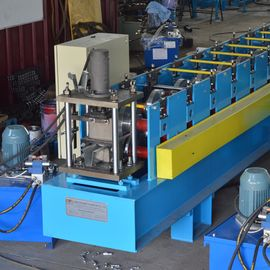 Double Raw Or Three Raw Furring Channel Roll Forming Machine High Efficiency