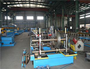 Perforated Cable Tray Manufacturing Machine , Roll Forming Equipment Low Noise