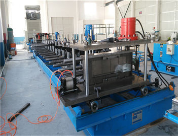 Durable Trunking Cable Tray Roll Forming Machine , Metal Rolling Equipment
