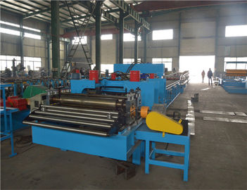 ISO Cable Ladder / Cable Tray Roll Forming Machine For 200-800 Mm Width