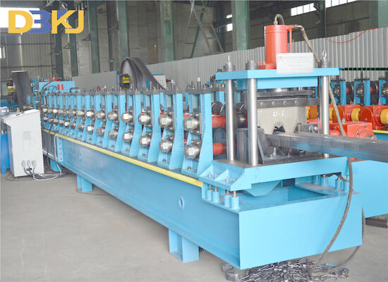 10m/Min 2 Waves Highway  Guardrail Roll Forming Machine