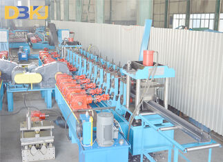 76mm Shaft  Gearbox 5mm Post C Section Roll Forming Machine