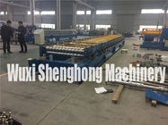 Steel Structural Floor Panel Cold Roll Forming Machinery Easy Control supplier