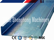 Interchangeable C Shaped Purlin Roll Forming Machine Roofing C Purlin Truss supplier