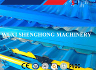 High speed Roofing Sheet Wall Panel Double Layer Roll Forming Machine supplier