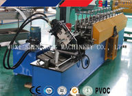 Automatic Control Steel Door Frame Roll Forming Machine , High Speed supplier