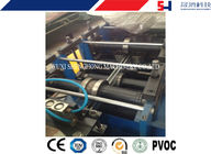 CNC Shelving / storage rack Sheet Metal Roll Forming Machines With Anti Rust Roller