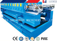 Saw Cutter PLC Control Cold Roll Forming Equipment For Shutters Box Series 0.8mm - 1mm supplier