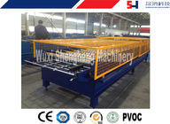 PLC Controlled Precision Cold Roll Forming Machine For Roofing Tile Making supplier