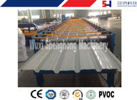 380 Voltage Steel Cold Roll Forming Machine , Sandwich Panel Making Machine