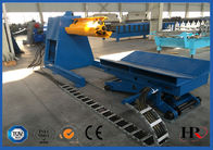 China Colored Glaze Steel 760 Roofing Sheet Roll Forming Machine Easy Installation company