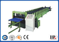 China Color Steel Glazed Tile Roll Forming Machine , Custom Roof Tile Making Machine factory