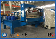 Metal Window / Door Frame Cold Roll Forming Machine With Hydraulic Cutting