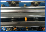 PLC Control Steel Metal Door Frame Roll Forming Machine 5.5KW 8 - 12 m / min