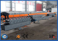 Rolling Shutter Slat Sheet Metal Roll Forming Machines With Automatic Punching / Cutting