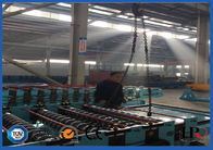 China Fast Speed Metal Deck Roll Forming Machine , Punching Metal Mesh Production Line factory