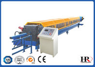 China Galvanized Sheet Gutter Roll Forming Machine For Roof Flashing Profile factory