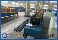 China Rain Gutter Style Roll Forming Equipment Roof Flashing Profile Bending Machine factory