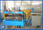 China PLC Control Sheet Roll Forming Machine , Wall Panels Roll Forming Line factory