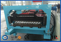 China Roofing Sheet Roll Forming Machine , Metal Forming Equipment factory