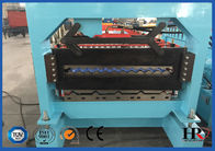 Galvanized Roofing Sheet Double Deck Roll Forming Machine 16mm