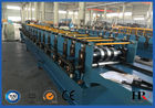 China Gutter Style Ridge Cap Roll Forming Machine Roof Flashing Profile factory