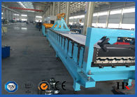 China High Speed Aluminium Sheet Roof Tile Forming Machine / Cold Roll Former factory