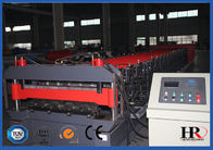 China High Crest Floor Deck Roll Forming Machine For Making Floor Bearing Plate factory