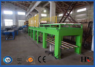 China 0.7 Mpa Air Pressure EPS Sandwich Wall Panel  Roll Forming Machine  With  Mitsubishi PLC & Converter factory