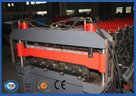 China Colored Galvanized Steel Sheet Metal Roll Forming Machines 4 KW factory