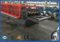 China Double Layer Metal Cold Roll Forming Machine , Steel Roll forming Machine Design factory