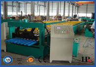 Roof  Tiles Series Cold Roll Forming Machine with Fixed Positon Driven Forming Stations supplier