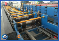 China 15KW Steel Purplin Cold Roll Forming Machine PLC Controlling System factory