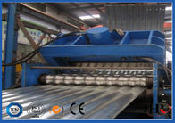 China PLC Control Steel Silo Roof pre-punching Silo Roofing making machine factory