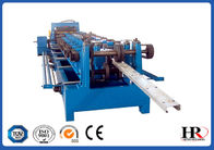China C Purlin Roll Automatic Forming Machine With Auto Cutting , 3mm Thickness factory