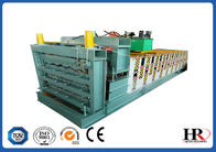 China three layer roofing sheet roll forming making machine with high speed factory