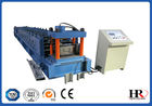 Automatic Colored C Z Purlin Roll Forming Machine 0.3 - 0.8mm Thickness