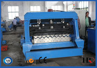 China 1.5-3.0mm Corrugated Steel  Granary Silo Roll Forming Machine Gcr15 Roller Material factory