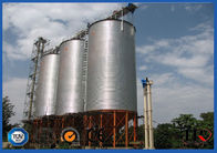 China 777m3 Bulk Material Cereal Silo Machine For Grain And Feed Customized Color factory