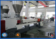 China PP PE Film Recycling Granulator Machine / Plastic Pelletizer PLC Control factory