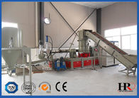 China Double Stage Plastic Recycling Machine / Granulation Equipment High-efficient factory