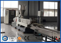 Twin Screw PET Plastic Recycling Machine , Plastic Granulator Production Line