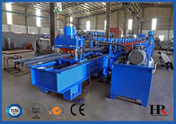 China 2-WAVE Galvanized Steel Highway Guardrail Roll Forming Machine factory